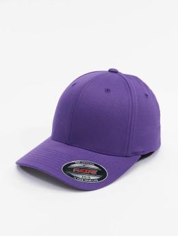 Flexfit Flexfitted-lippikset Wooly Combed purpuranpunainen