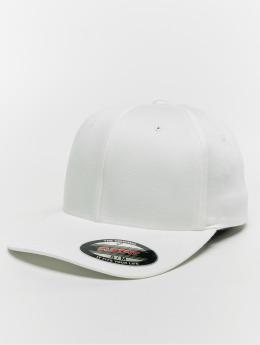 Flexfit Flexfitted-lippikset Organic Cotton valkoinen