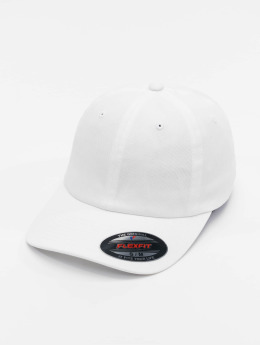 Flexfit Cotton Twill Dad Flexfitted Cap White