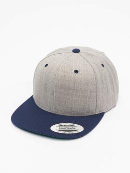 Flexfit Snapback Cap Classic 2-Tone blau