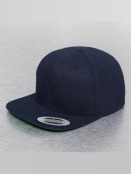 Flexfit Snapback Cap Melton Wool blau