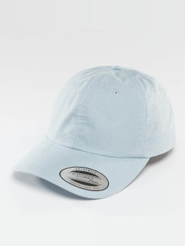 Flexfit Snapback Cap Low Profile Washed blau