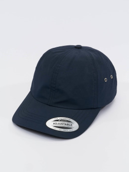 Flexfit Snapback Cap Low Profile Water Repellent blau