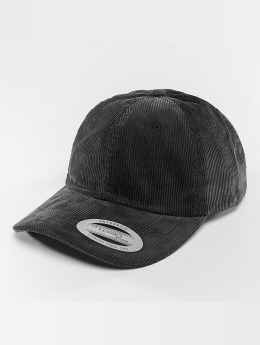 Flexfit Snapback Cap Low Profile Corduroy Dad blau
