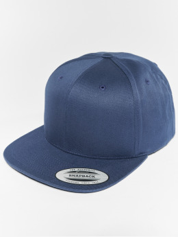 Flexfit Snapback Cap Organic Cotton blau