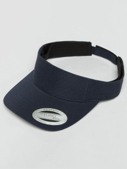 Flexfit snapback cap Curved Visor blauw