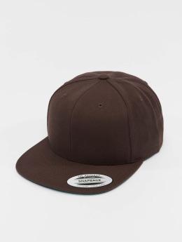 Flexfit Snapback Cap Classic braun