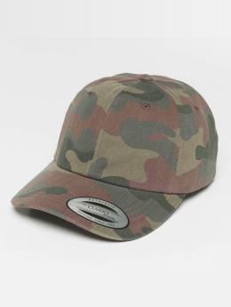 Flexfit Snapback Cap Low Profile Cotton Camo camouflage