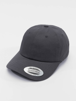Flexfit Snapback Cap Low Profile Cotton Twil grau