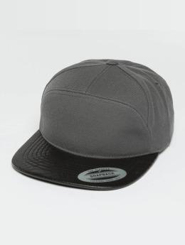 Flexfit Snapback Cap Arch grau