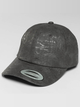 Flexfit Snapback Cap Low Profile Coated grau