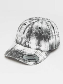 Flexfit Snapback Cap Low Profile Tie Dye grau