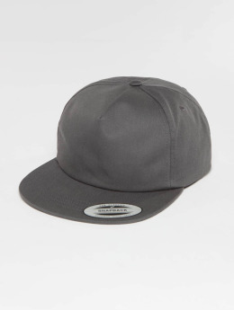 Flexfit Snapback Cap Unstructured grau