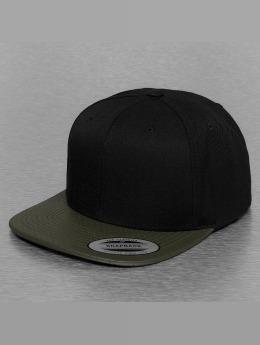 Flexfit snapback cap Perforated Visor olijfgroen