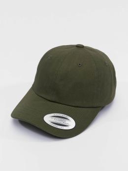 Flexfit snapback cap Low Profile Cotton Twill olijfgroen