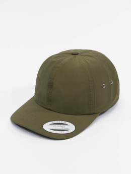 Flexfit Snapback Cap Low Profile Water Repellent olive