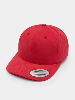 Flexfit snapback cap Brushed Cotton Twill Mid-Profile rood