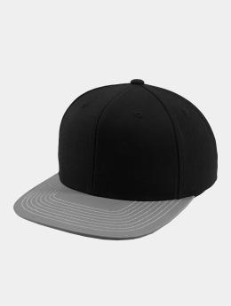 Flexfit Snapback Cap Reflective Visor schwarz