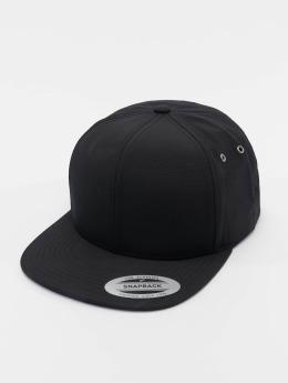 Flexfit Snapback Cap Water Repellant schwarz