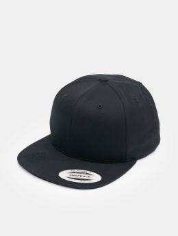 Flexfit Snapback Cap Organic Cotton schwarz