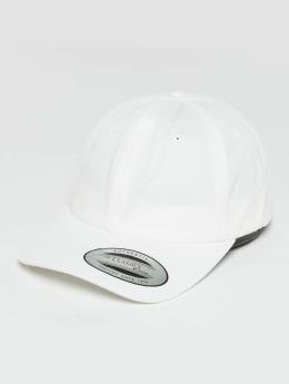 Flexfit Snapback Cap Low Profile Cotton Twill Kids weiß