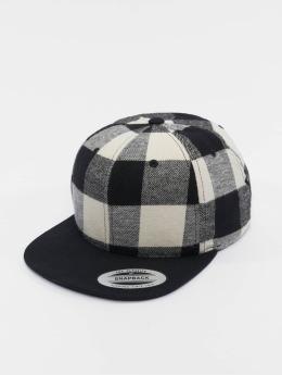 Flexfit snapback cap Checked Flanell zwart