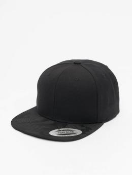 Flexfit snapback cap Camo Visor zwart