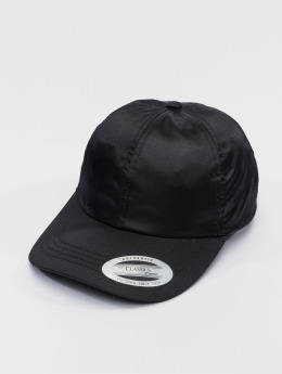 Flexfit snapback cap Low Pofile Satin zwart