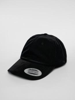 Flexfit snapback cap Corduroy Satin Dad zwart