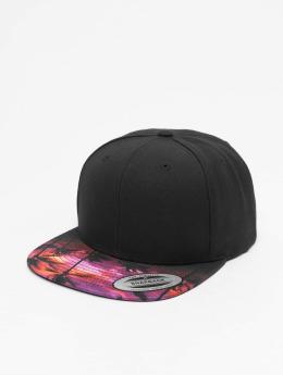 Flexfit Sunset Peak Snapback Cap Black