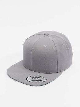 Flexfit Snapback Caps Classic harmaa