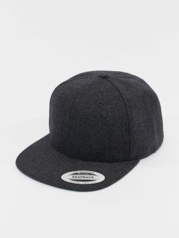 Flexfit Snapback Caps Melton Wool harmaa