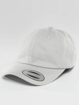 Flexfit Snapback Caps Peached Cotton Twill Dad harmaa