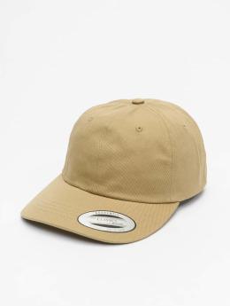 Flexfit Snapback Caps Low Profile Cotton Twill khakiruskea
