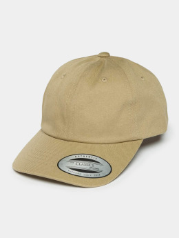 Flexfit Snapback Caps Low Profile Cotton Twill Kids khakiruskea