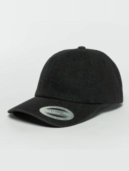 Flexfit Snapback Caps Low Profile Denim musta