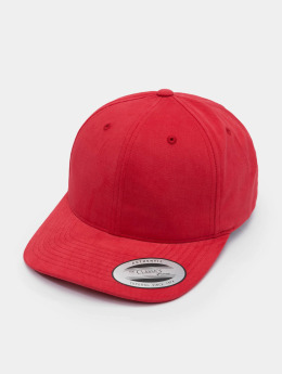 Flexfit Snapback Caps Brushed Cotton Twill Mid-Profile punainen
