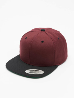 Flexfit Snapback Caps Classic 2-Tone punainen