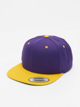 Flexfit Snapback Caps Classic Two Tone purpuranpunainen