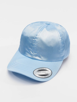 Flexfit Snapback Caps Low Pofile Satin sininen
