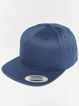 Flexfit Snapback Caps Organic Cotton sininen