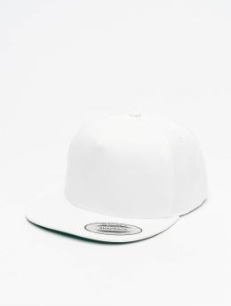 Flexfit Snapback Caps Classic 5 Panel valkoinen