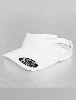 Flexfit Snapback Caps Visor valkoinen