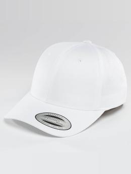 Flexfit Snapback Caps Curved Classic valkoinen