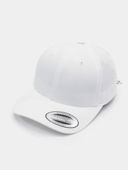 Flexfit Snapback Caps Curved Bandana Tie valkoinen