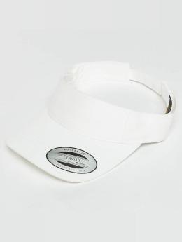 Flexfit Snapback Caps Curved Visor valkoinen