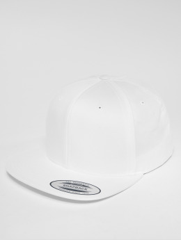 Flexfit Snapback Caps Organic Cotton valkoinen