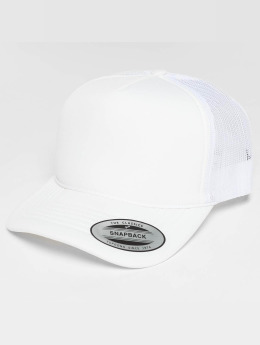 Flexfit Trucker Cap Curved Visor Foam blau
