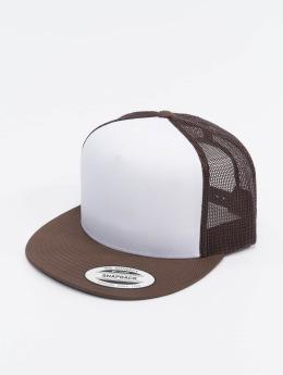 Flexfit trucker cap Classic bruin