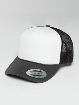 Flexfit Trucker Cap Curved Visor Foam grau